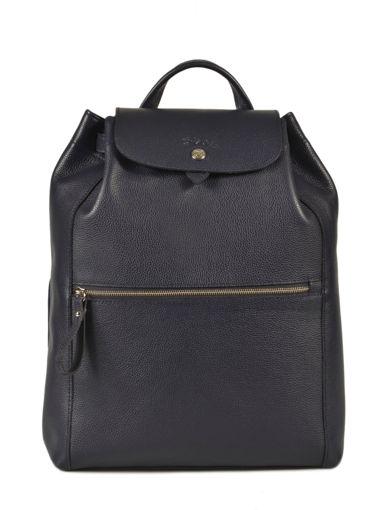 Longchamp Le foulonné Backpack Blue