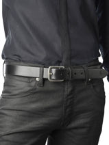 Belt Polo ralph lauren Black belt A77AB761-vue-porte