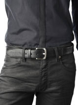 Belt Adjustable Katana Black atlanta C0015-vue-porte