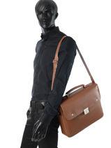 Longchamp Le foulonné Serviette Noir-vue-porte