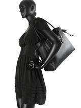 Longchamp Pénélope Besaces Noir-vue-porte