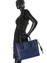 Longchamp Handbag Orange-vue-porte