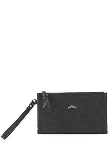Longchamp Clutch / cosmetic case Black