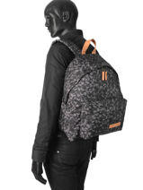 Backpack 1 Compartment Eastpak Black pbg aminimal PBGAK620-vue-porte