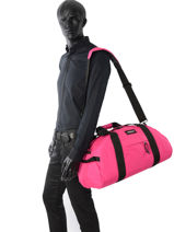 Travel Bag Pbg Authentic Luggage Eastpak Pink pbg authentic luggage PBGK735-vue-porte