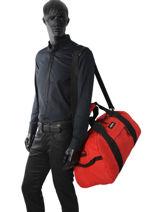 Travel Bag Pbg Authentic Luggage Eastpak Red pbg authentic luggage PBGK070-vue-porte