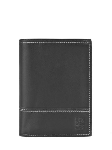 Longchamp Cavalier Portefeuilles Noir