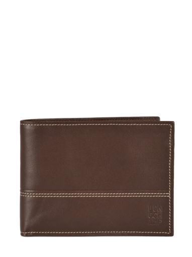 Longchamp Cavalier Bill case / card case Brown