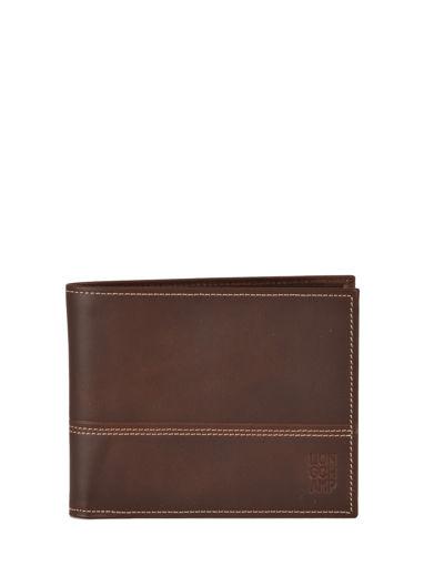 Longchamp Cavalier Porte billets/cartes Marron