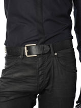 Ceinture Ajustable Redskins Noir belt 15982-vue-porte