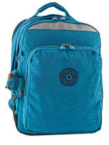 Backpack 2 Compartments + 15'' Pc Kipling Blue back to school 6666