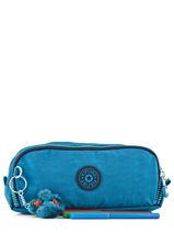 Kit 3 Compartments Kipling Blue back to school 13564-vue-porte