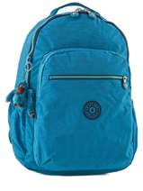 Backpack 1 Compartment + 15'' Pc Kipling Blue back to school 21305