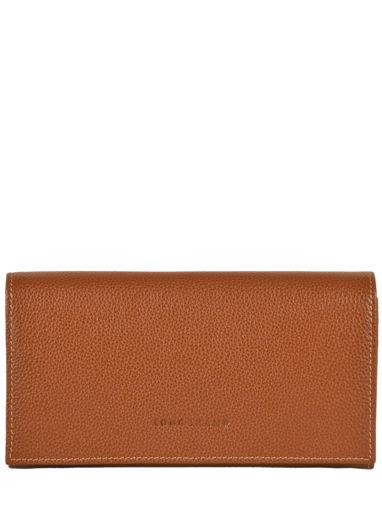 Longchamp Portefeuilles Marron