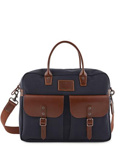 Longchamp S@fari sur Seine Briefcase Blue