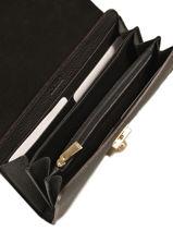 Portefeuille Cuir Furla Noir milano PEG-PS34-vue-porte