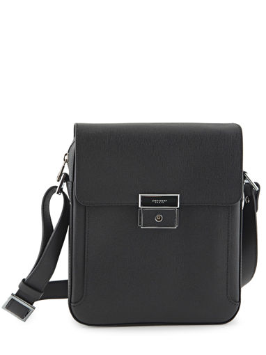 Longchamp RACING + Hobo bag Black