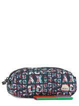 Kit 2 Compartments Roxy Multicolor back to school RJAA3326-vue-porte