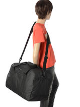Cabin Duffle Luggage Quiksilver Black luggage QYBL3096-vue-porte