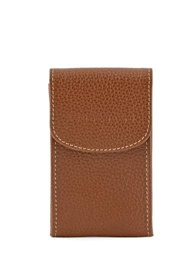 Longchamp Key rings Brown