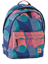 Backpack 2 Compartments Rip curl Blue camo LBPMU4