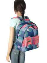 Backpack 2 Compartments Rip curl Blue camo LBPMU4-vue-porte