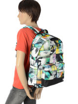 Backpack 1 Compartment Rip curl Multicolor ocean glitch BBPIP4-vue-porte
