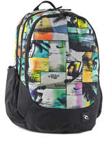 Backpack 3 Compartments Rip curl Multicolor ocean glitch BBPIS4