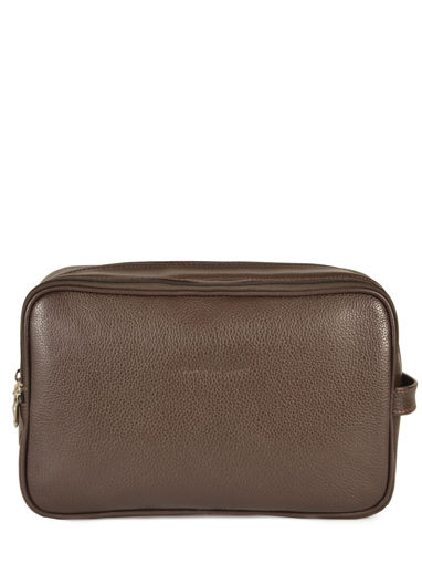 Longchamp LE FOULONNÉ BICOLORE Toiletry case Brown