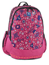 Backpack 3 Compartments Rip curl Red mandala LBPJR4
