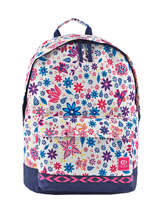 Backpack 1 Compartment Rip curl White mandala LBPJV4