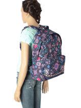 Backpack 1 Compartment Rip curl Blue mandala LBPJV4-vue-porte