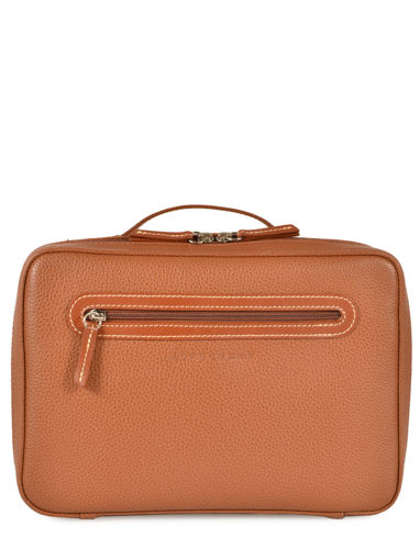 Longchamp Le foulonné Toiletry case Brown