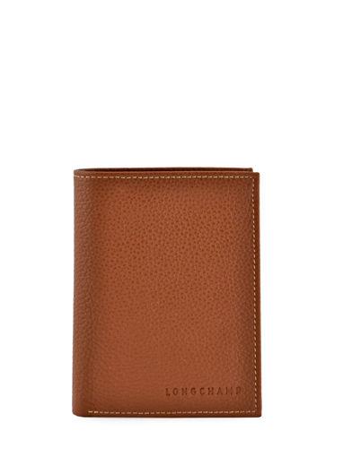 499f50bf2ccc Portefeuilles Longchamp 3134021 cognac - livraison gratuite