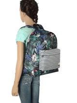 Sac A Dos 1 Compartiment Roxy Black back to school RJBP3538-vue-porte