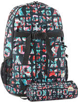 Sac à Dos Pc 15'' Avec Trousse Offerte Roxy Gris back to school RJBP3545
