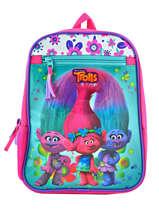 Backpack Mini Trolls Multicolor flower 48321