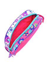 Trousse Trolls Multicolore flower 48341-vue-porte