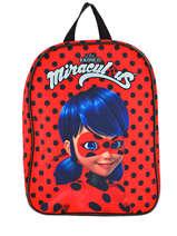Sac A Dos Mini Miraculous Rouge zag 13328