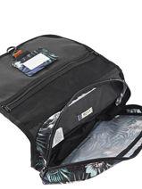 Beauty Case Roxy Noir luggage RJBL3100-vue-porte
