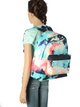 Sac à Dos 1 Compartiment Roxy Multicolore back to school RJBP3538-vue-porte