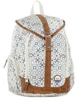 Sac A Dos 1 Compartiment Roxy Blanc back to school soul RJBP3539