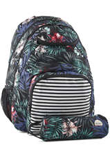 Backpack 2 Compartments With Free Pencil Case Roxy Black back to school RJBP3594