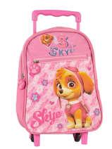 Wheeled Backpack Paw patrol Pink skye 5855075P