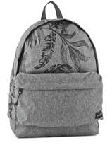 Sac A Dos 1 Compartiment Quiksilver Gris shadow QYBP3419