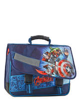Cartable 2 Compartiments Avengers Bleu shield AVL13007