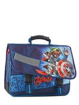 Satchel 2 Compartments Avengers Blue shield AVL13007