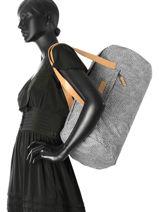 Cabin Duffle Aminimal Luggage Eastpak Black aminimal luggage EK20B-vue-porte