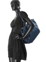 Briefcase Samsonite Blue karissa 60N003-vue-porte
