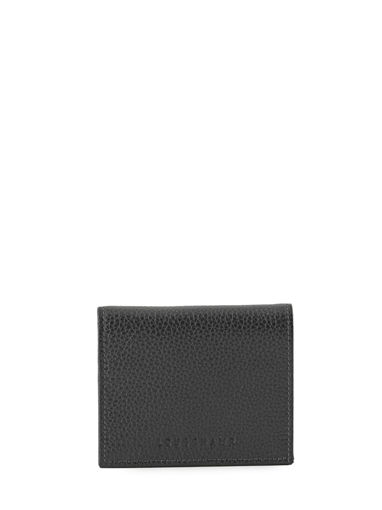 Longchamp Le foulonné Coin purse Black